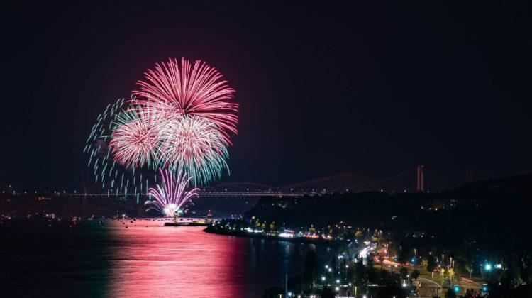 fuoghi d'artificio